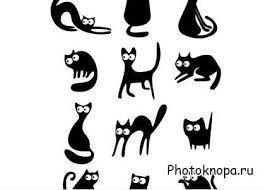 коты картинки рисунки