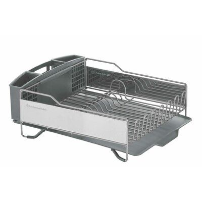 Kitchenaid Stainless Steel Countertop Dish Rack In 2020