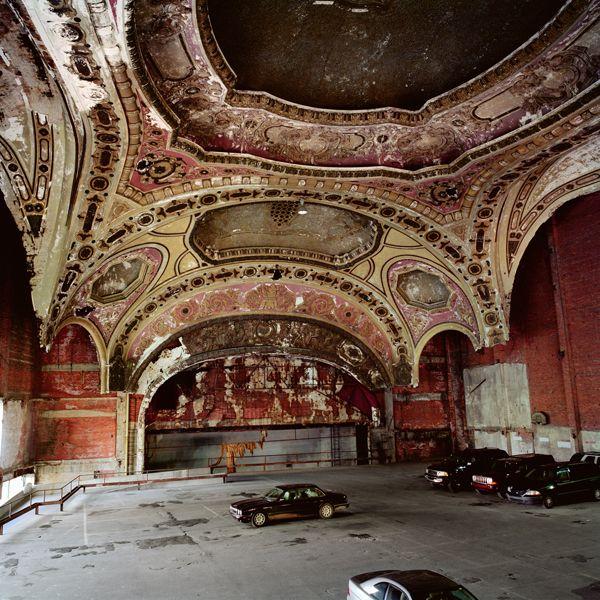 Michigan Theater Carpark 2 Jpg 600 600 Detroit Michigan Filming Locations