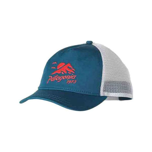 Women s Patagonia Coastal Range Layback Trucker Hat - Underwater Blue...  (43 NZD) ❤ liked on Polyvore featuring accessories dc674fac6e4