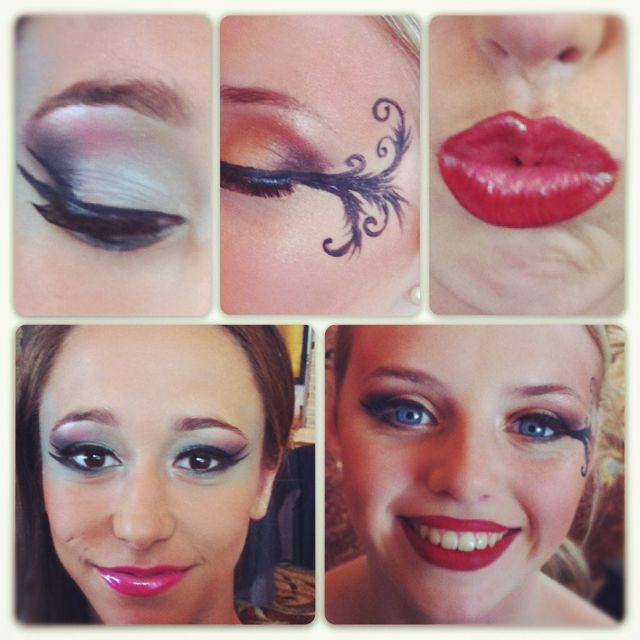 Stage Make-up For Dance Competition | Make Up And Hair | Pinterest | Dancing Makeup And Dance ...