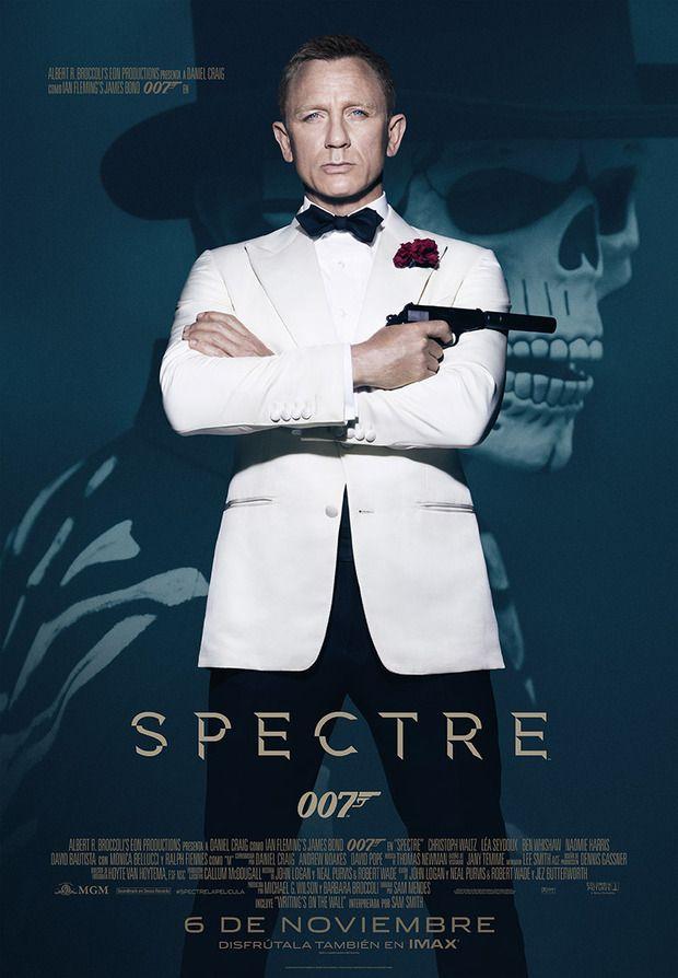 Spectre | Movie Posters | Pinterest | Finales, James bond y Carteles ...