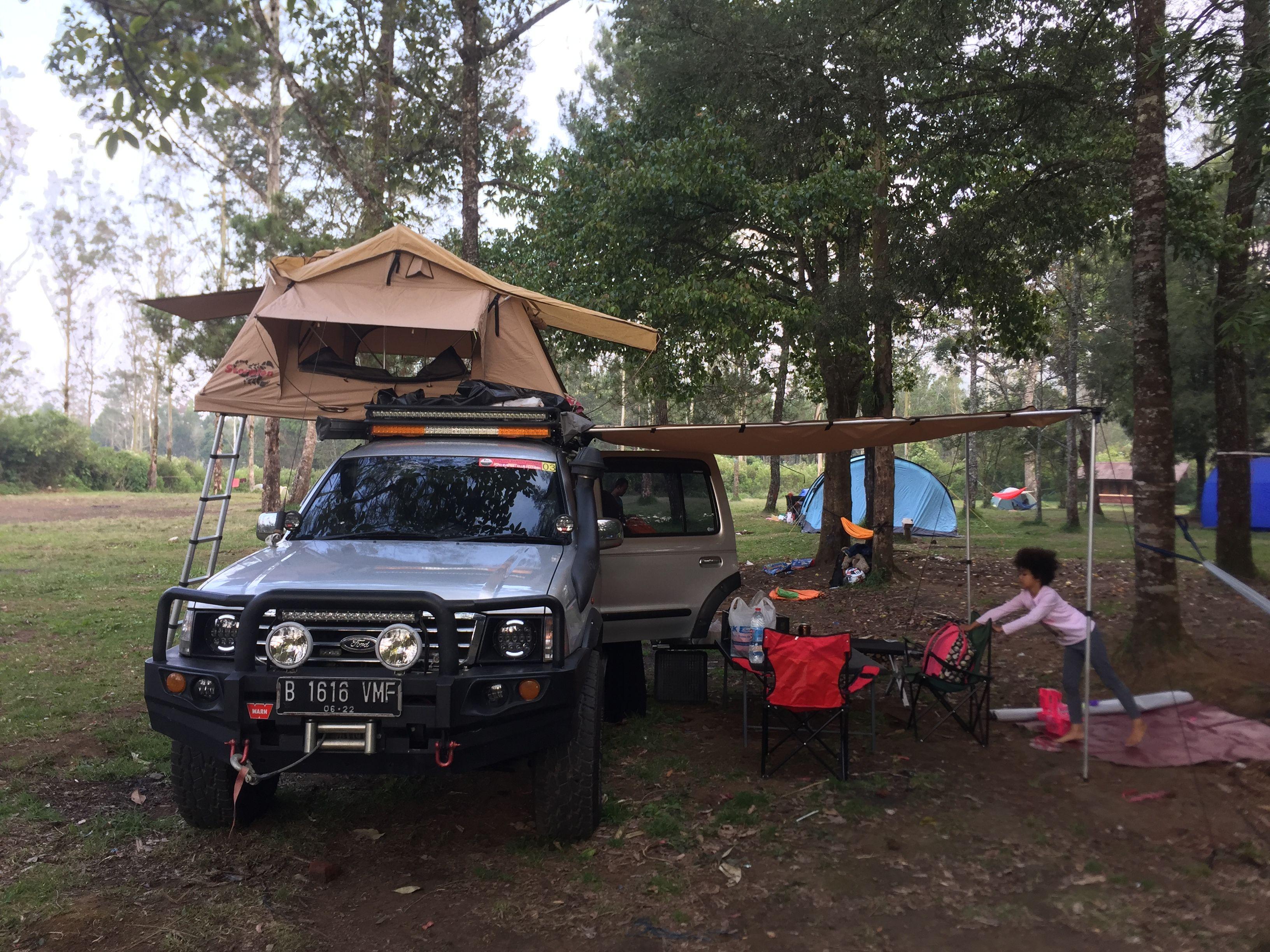 Ford Everest Tdi 4x4 Rooftent Dengan Gambar
