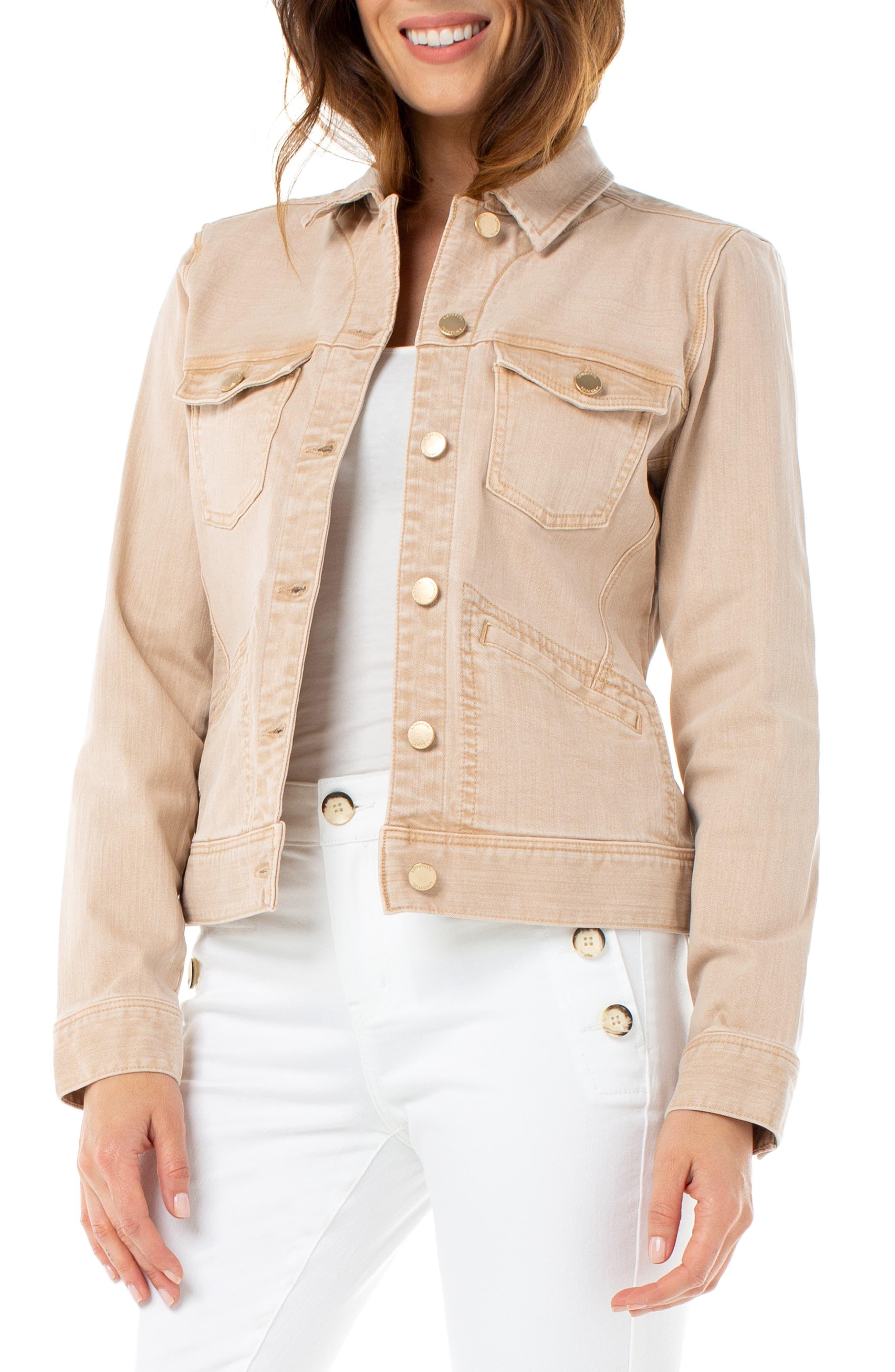 Liverpool Denim Jacket Nordstrom Denim Jacket Women Denim Jacket Jackets For Women [ 4048 x 2640 Pixel ]