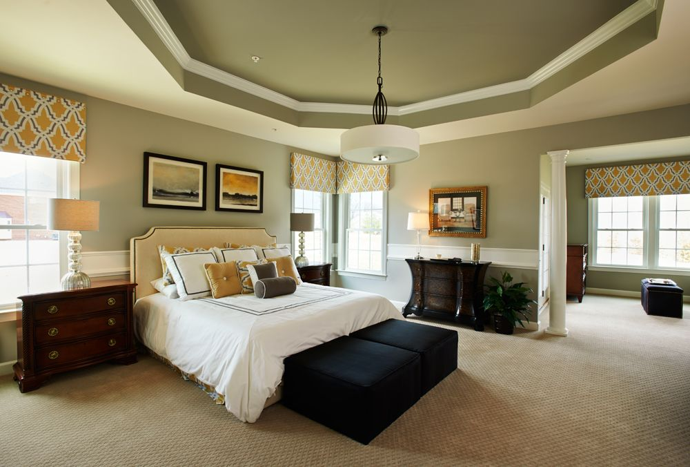 The Wynterhall Master Bedroom With Sitting Area Covered Porch Wynterhall Home Design