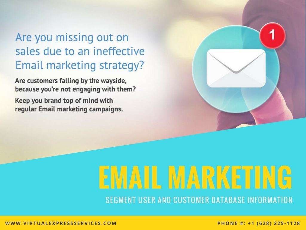 Keep your brand at the top with regular Email Marketing