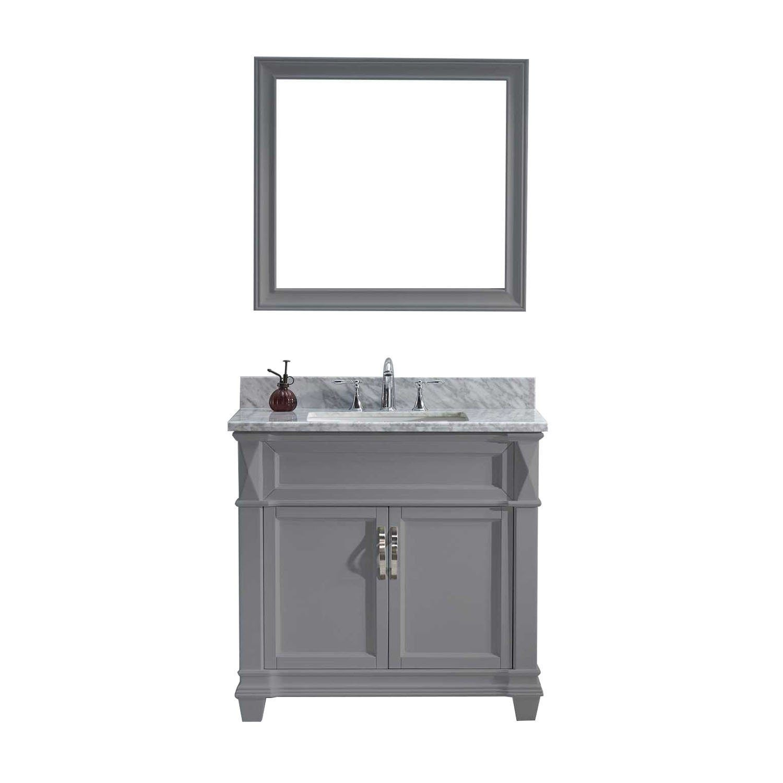Virtu Usa Victoria 36 Marble Vanity Tops Single Bathroom Vanity