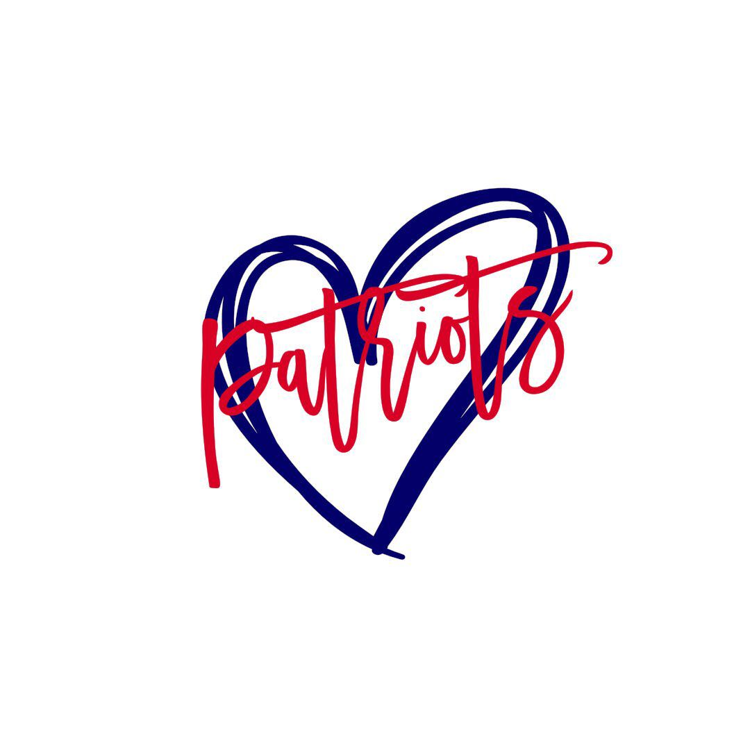 Patriots Heart Svg Png Etsy Patriots Patriotic Shirts Patriots Football