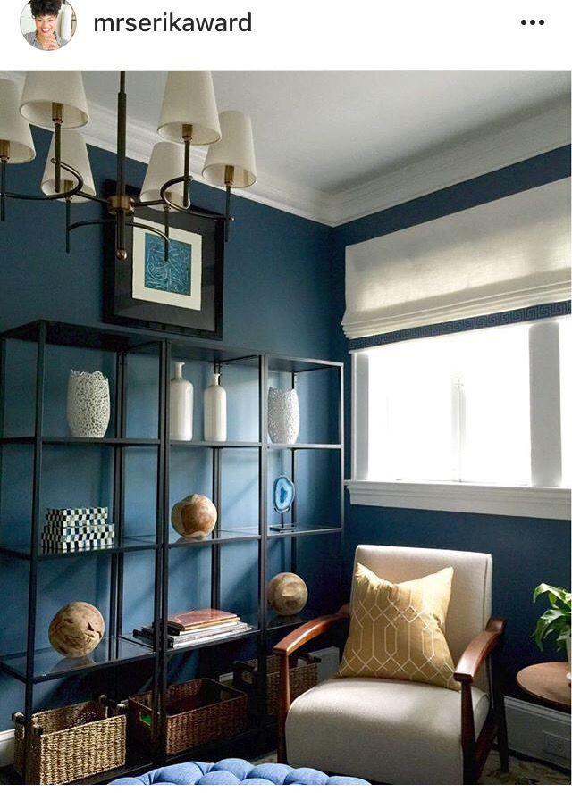 Smokey Blue Bedroom: Sherwin Williams 7604 Smokey Blue