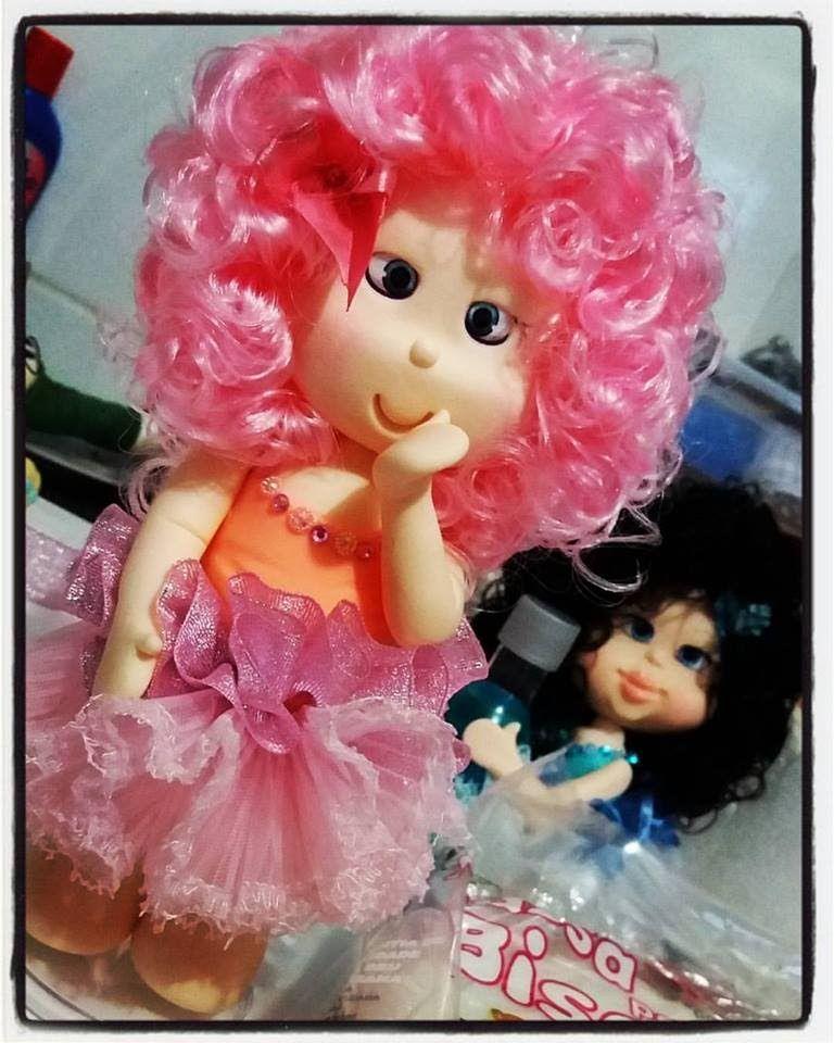 DIY- Cantinho dos Sonhos- boneca em biscuit