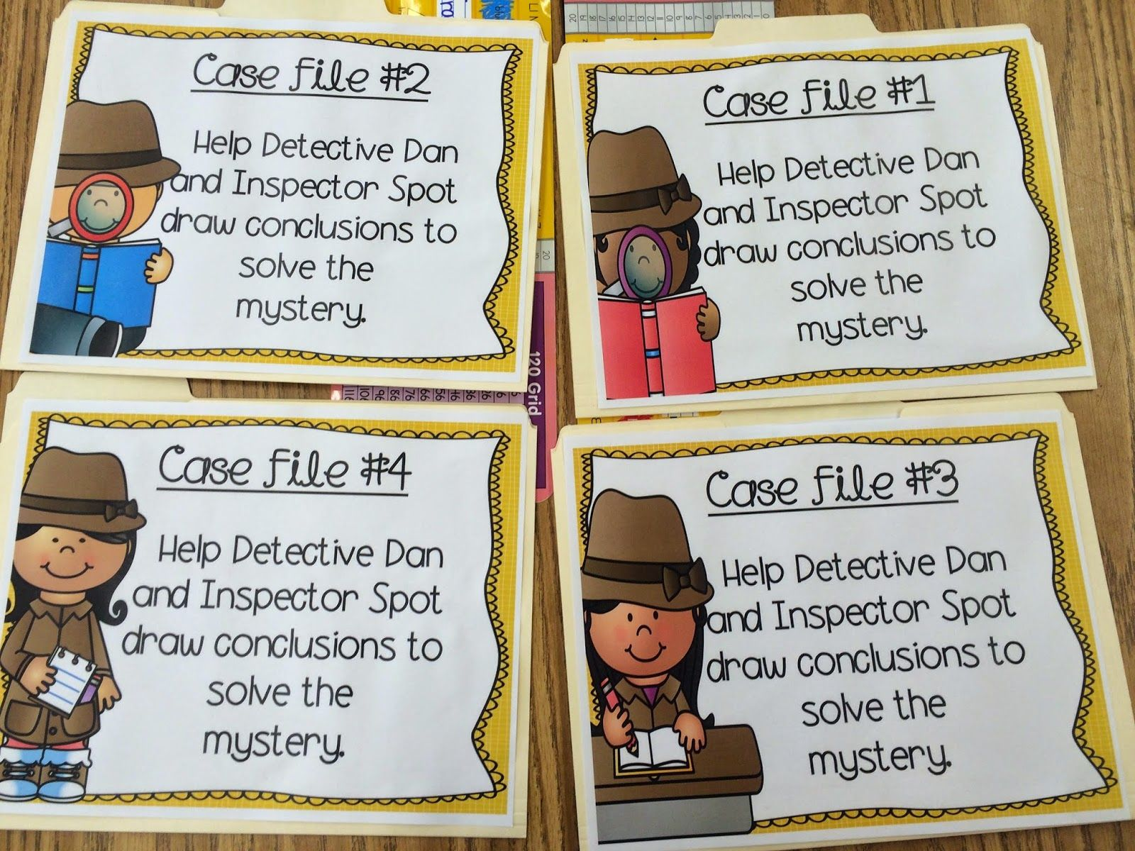 Five For Friday Drawing Conclusions 2nd Grade Activities Drawing Conclusions Activity [ 1200 x 1600 Pixel ]
