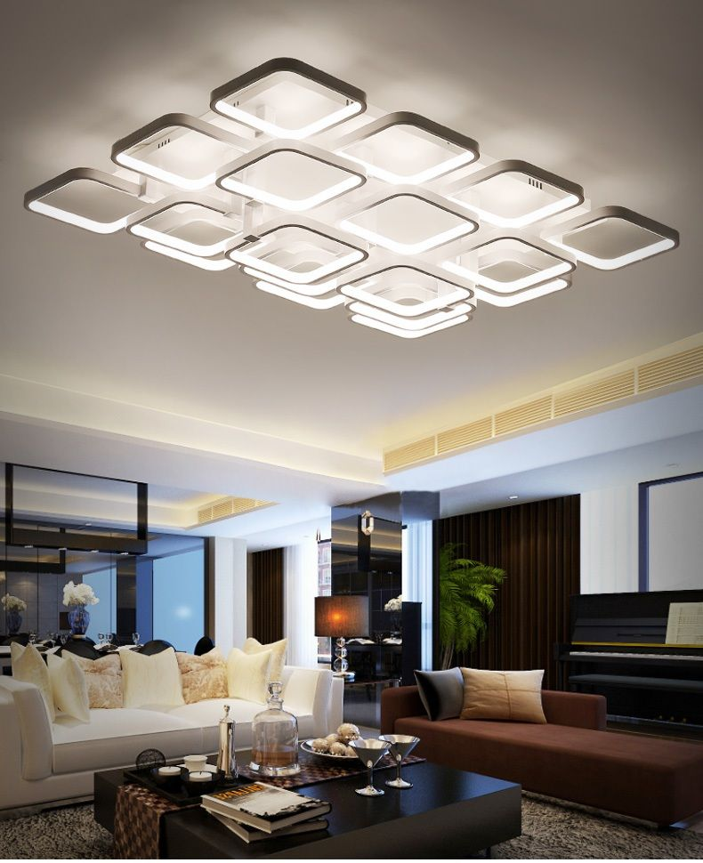 Led Suction Dome Light Of The Modern Minimalist Atmosphere Of The Rectangular Home Commercial Modern Ceiling Light Lighting Ceiling Lamp Commercial Lighting
