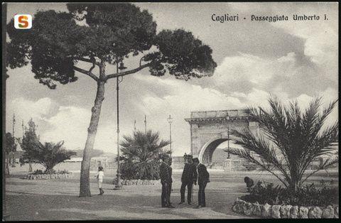 Cagliari Terrazza Umberto I Cagliari Bastione San Remy