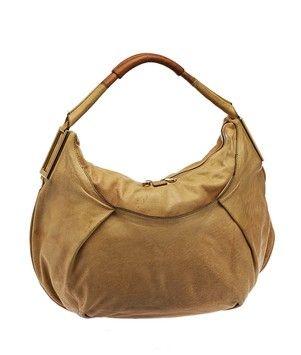 Ethel Camel Large Beige Leather Hobo Bag   Hobo bags, Camels and ... f01ed74a8c