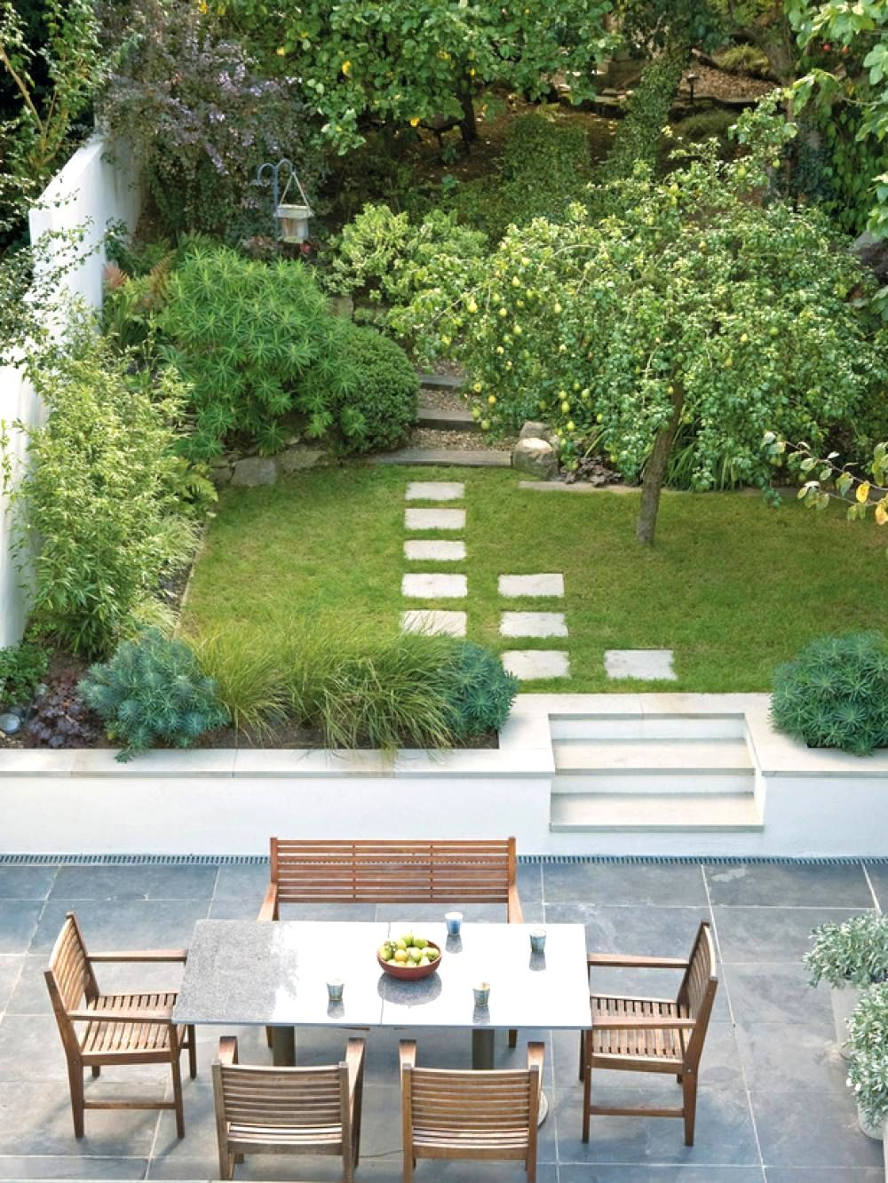 How To Design A Long Narrow Garden Garden Design Ideas ... on Long Narrow Backyard Design Ideas id=46546