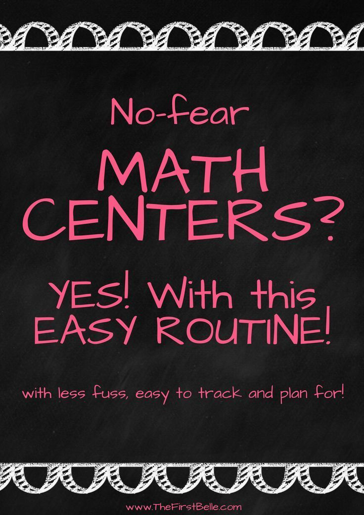 How I FINALLY Made Math Centers Work in My Classroom | Pinterest ...