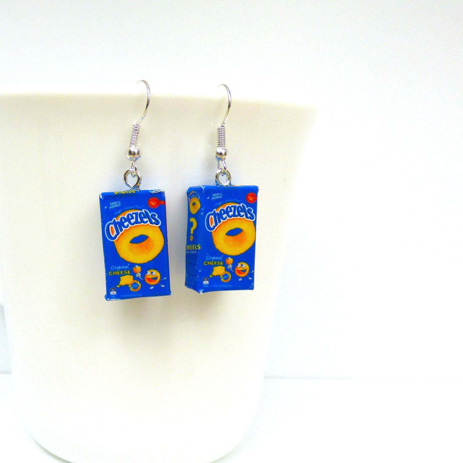A Fun Gift To Send Overseas Friends And Family Handcrafted In Australia From Wood Https Www Openingfairydoors Au Product Cheezels Earrings