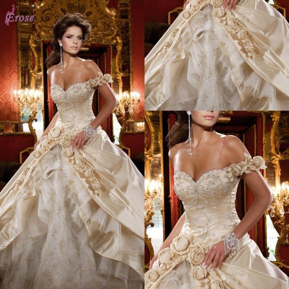 crystal wedding dresses Daniel Degli Onofri Luxury Swarovski Crystal One Shoulder Wedding Dress Wedding Gown G US 00