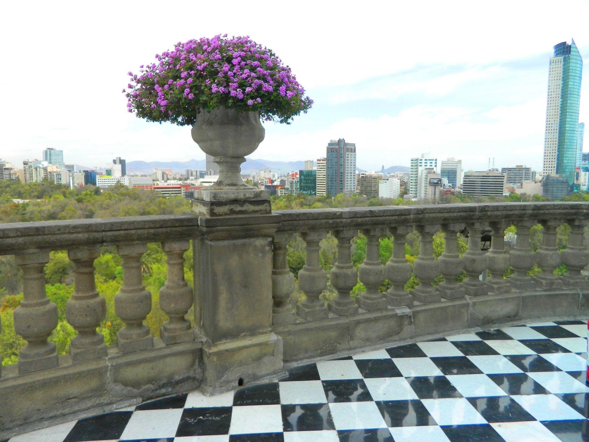 Vista - Castillo de Chapultepec