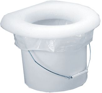 Todd Enterprises White Bucket Potty Toliet Seat 8002 01w Portable Toilet Seat Portable Toilet Toilet Seat