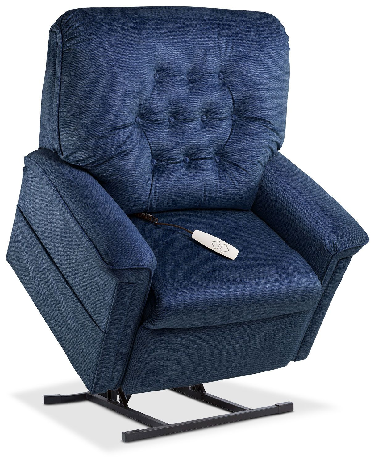 Jose Power Lift Recliner Blue Products Lift Recliners Recliner Value City Furniture