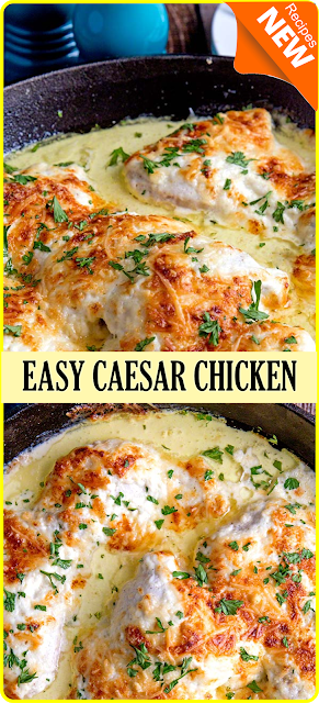 EASY CAESAR CHICKEN | Think food #marrymechicken