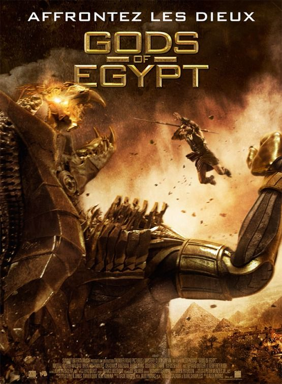 Gods Of Egypt Movie Poster 16 Egito Melhores Capas De Livros Egito Antigo