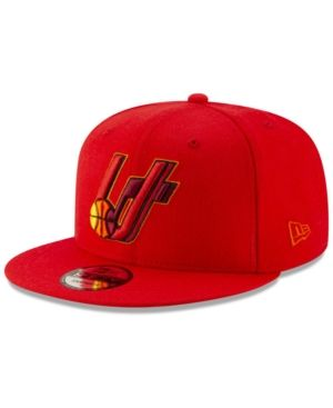 New Era Utah Jazz Light City Combo 9FIFTY Snapback Cap - Red Adjustable 20e21034bc0e