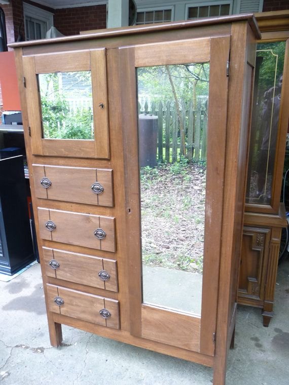 Mid Century Doerr Furniture Company Chifferobe By BoxinCroc