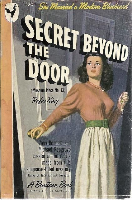 The Secret Beyond the Door Book cover art, Bantam, Cover
