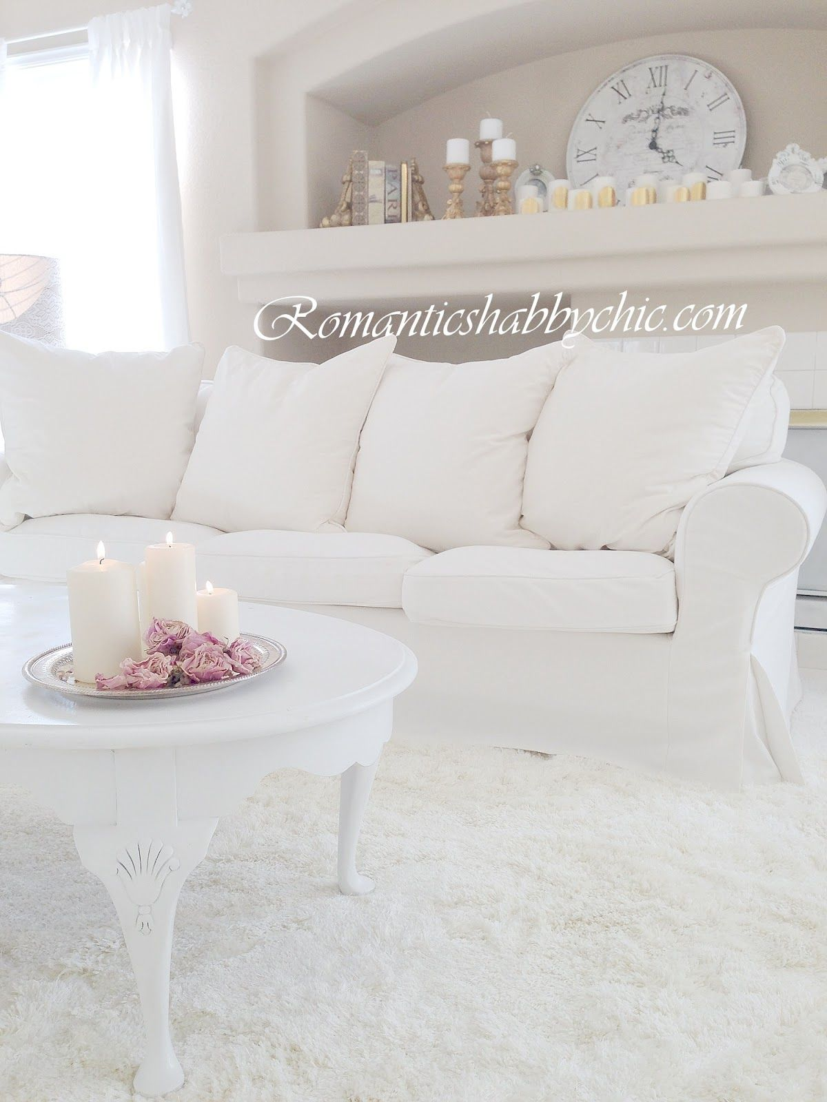 Teppiche Shabby Chic Romantikev Romantik White Andshabby The Beauty Of