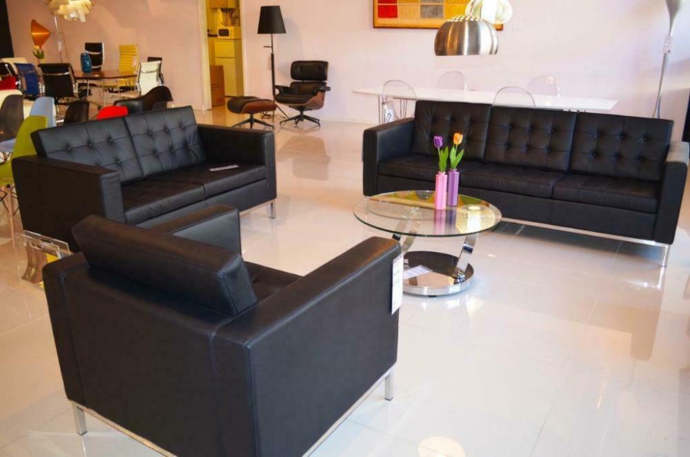 Gecapitonneerde Leren Bank.Florence Design Sofa Gecapitonneerde Lederen Bank Leer Banken