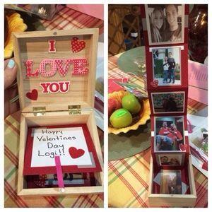 Keepsake For Husband Sweet Photo Birthday Gifts For Boyfriend Diy Valentines Gifts For Him Valentine Gifts