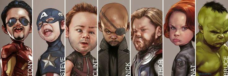 El desván del Freak: Baby Avengers.
