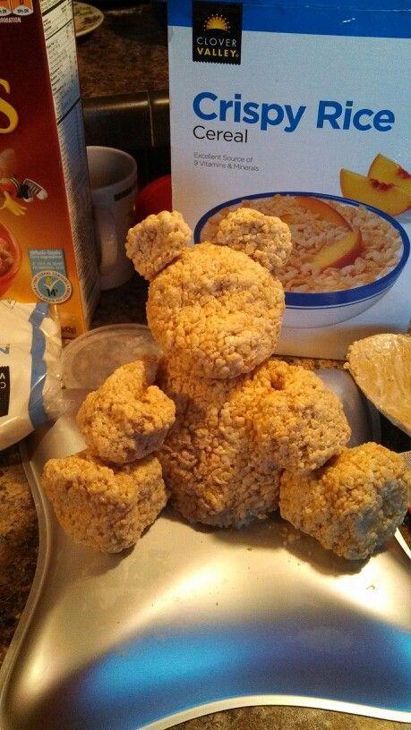 Rice Krispie bear