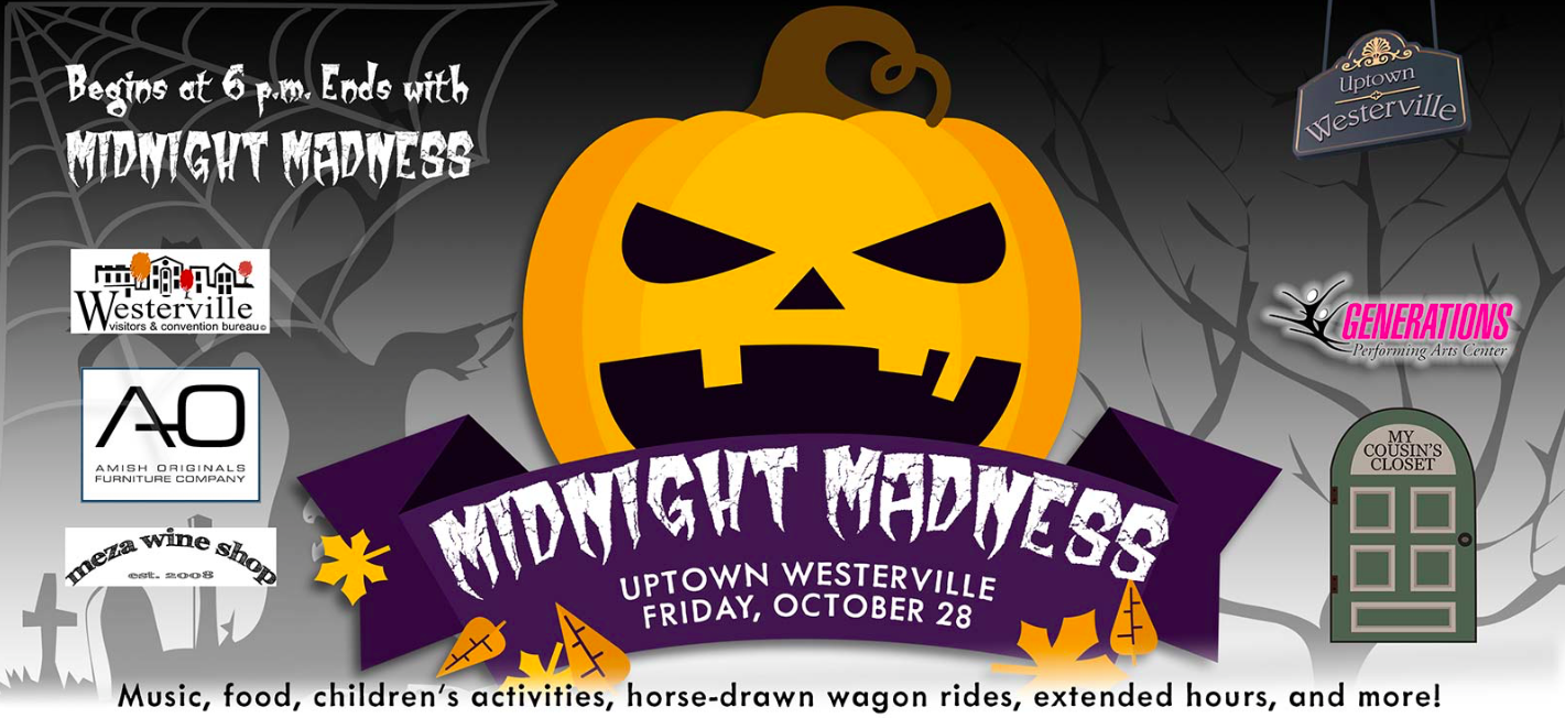 Everyone Get Ready For Some Spooky On State Street In Uptown Westerville  This Friday From 6pm Midnight! Along With All The Fun And Candy, Amish  Originals ...