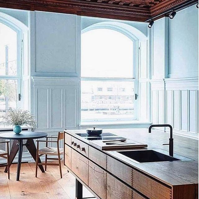 Photo of Not your usual kitchen! Via @mattersofthehome . . . . .  #interior123 #homedetai…