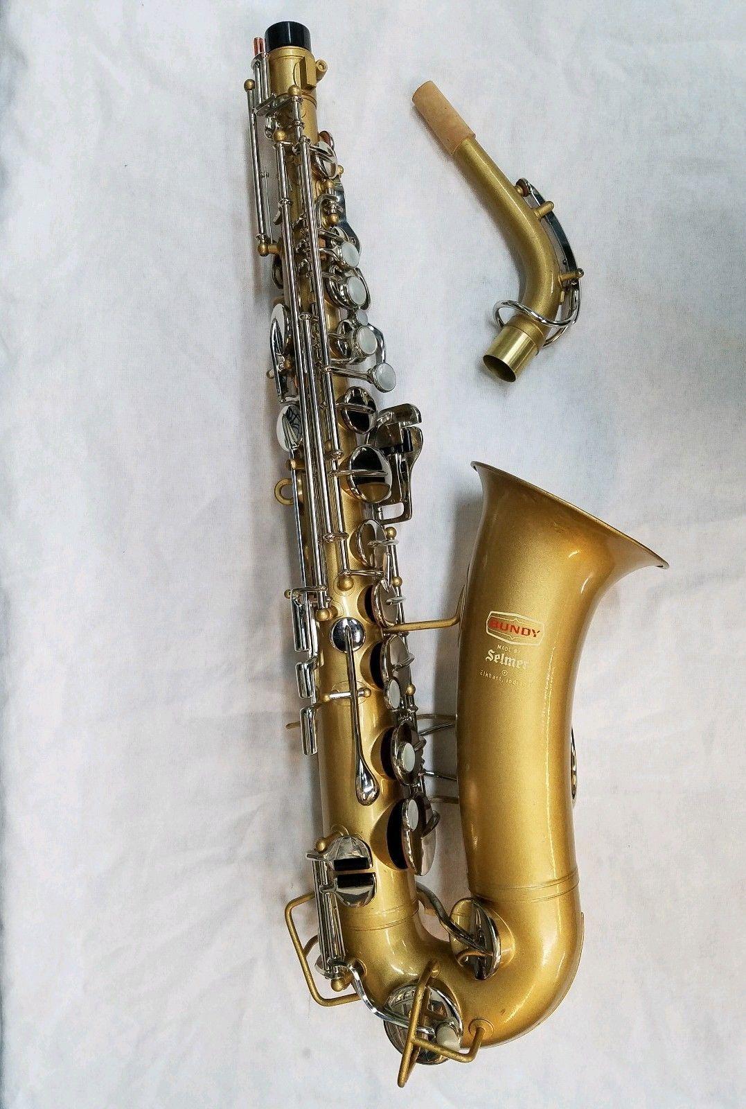 Selmer USA Bundy Alto Saxophone Completely Refurbished