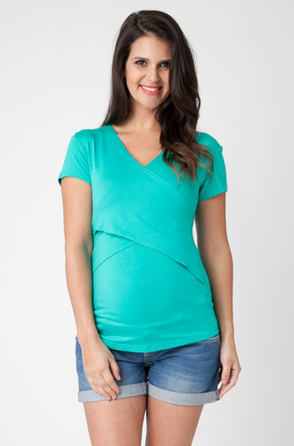 #share Embrace Short Sleeve #Breastfeeding Top  New Summer Arrivals in Winter :) Embrace Breastfeeding Top is now avail at Mums2be in Jade