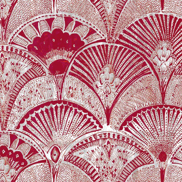Isadora-Indien-Lalie Design, Editeur De Tissu D'Ameublement