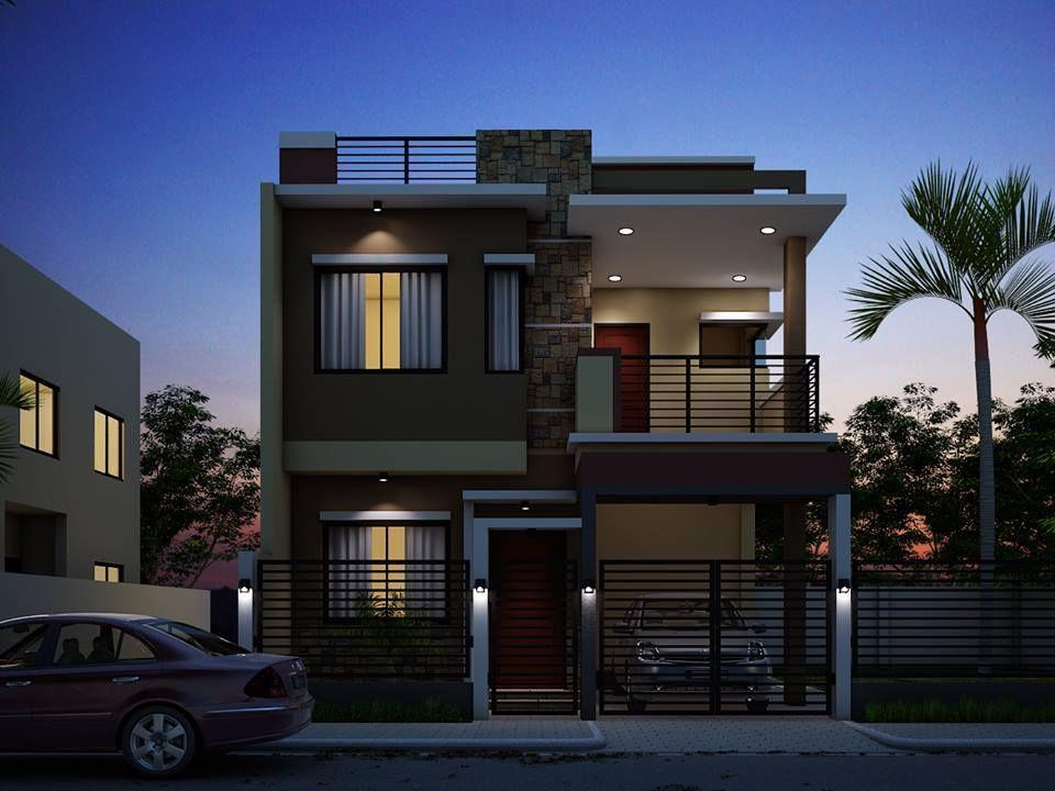 house2 Zen house design, Two story house design, Modern