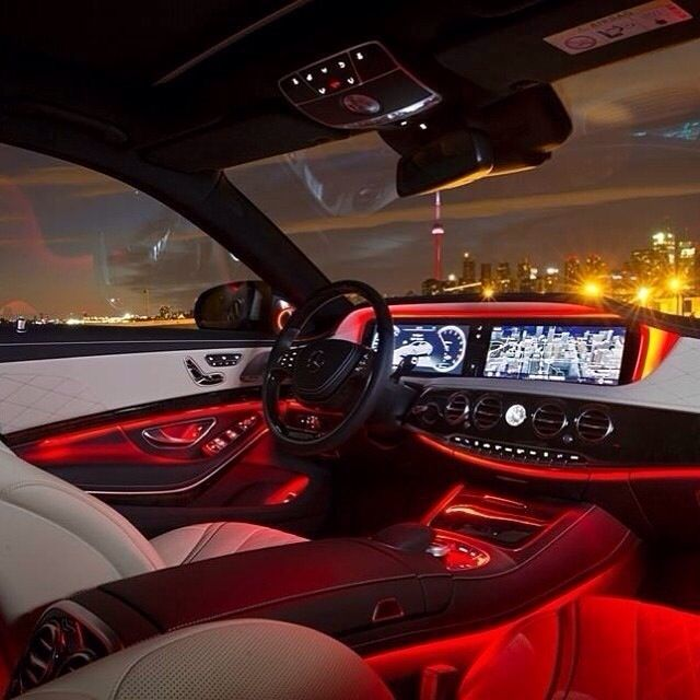 Mercedes S-Class Ambient Lighting!!