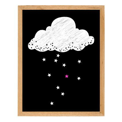 Perfect for a dreamy little girl.> Print comes unframed and is available in 2 sizes which fit perfectly into Ikea or Target frames> Digitally designed and printed on high quality 280gsm matte art paper using archival, environmentally-friendly inks> Designed and printed onsite in our studio> Delivery 5-7 working days Australia-wide only