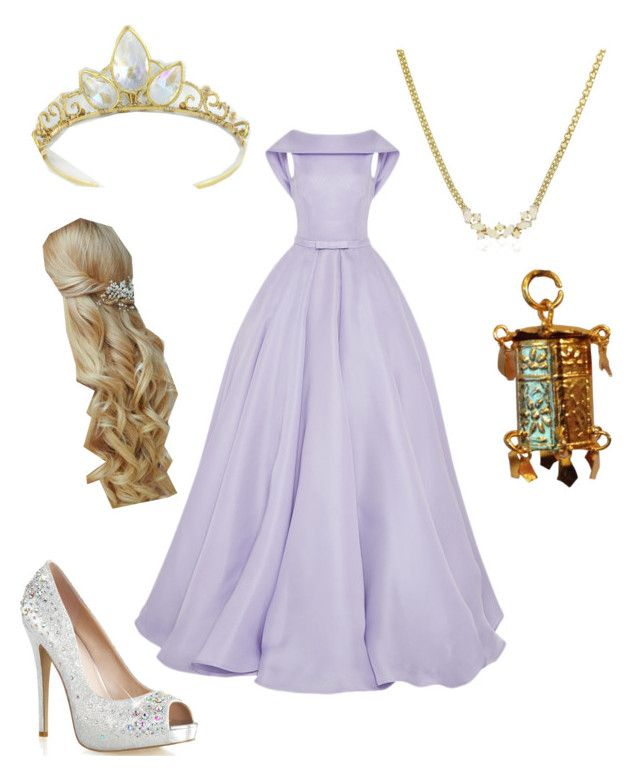 """Rapunzel"" by engriffin ❤ liked on Polyvore featuring Naeem Khan"