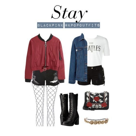 """Blackpink Outfit Ideas: Outfits Inspired By """"Stay"""" By BLACKPINK (requested By Anon"""