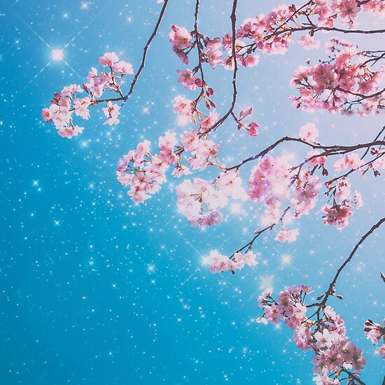 Cherry Blossom Aesthetic Vintage Classic Sparkly Aesthetic Millions Of Unique Designs By Independent Artists Find Your Thi Cherry Blossom Blossom Tapestry