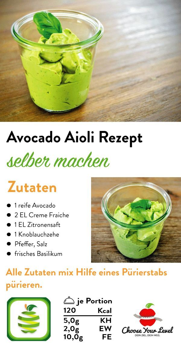 Avocadoaufstrich - Choose Your Level
