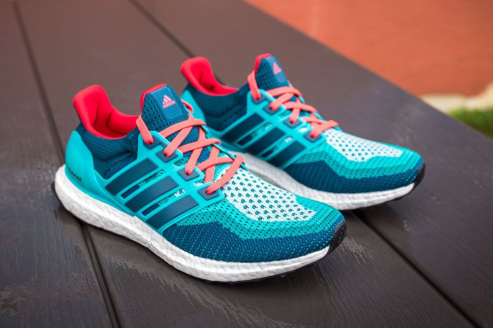 Cheap Real adidas Ultra Boost Mineral Green Shock Red
