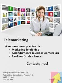 Telemarketing - Serviços asuasecretária-Maia