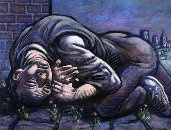 Peter Howson - Journeys End IV, (2002)